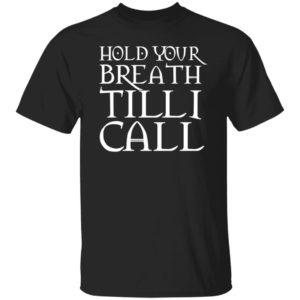 Nightmarfe On Film Street Merch Hold Your Breath Till I Call T Shirt