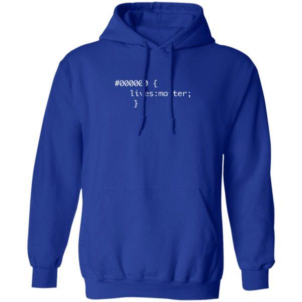 000000 Lives Matter Shirt Hexadecimal Black Lives Matter T Shirt
